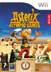 Обложка Asterix at the Olympic Games