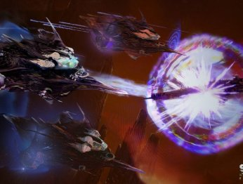 Star Conflict. Трейлер фрегат Waz'Got