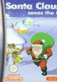 Обложка Santa Claus Saves The Earth
