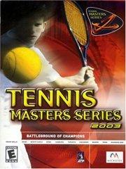 Tennis Master Series 2003 – фото обложки игры