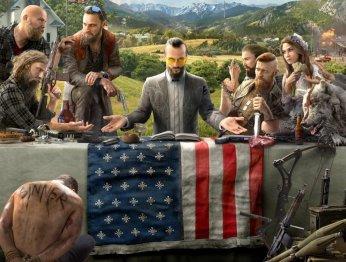 Что происходит напервом постере Far Cry5?