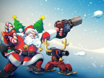 Overwatch приглашает на рождественский ивент