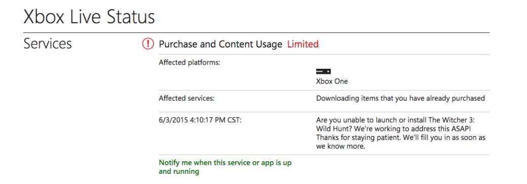 The Witcher 3 перестал запускаться на Xbox One из-за проблем с DRM - Изображение 1