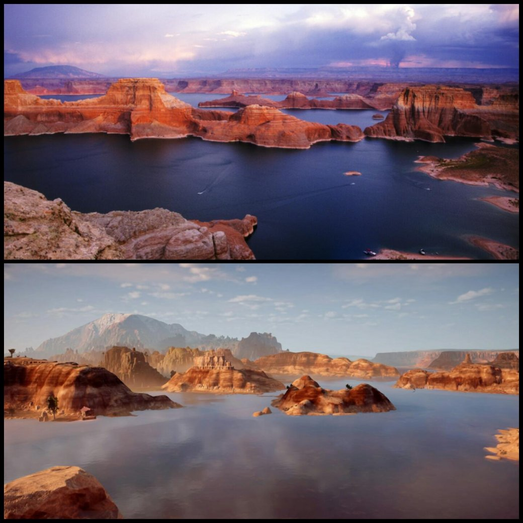 Реальные места, скоторых срисованы пейзажи Horizon Zero Dawn - Изображение 4