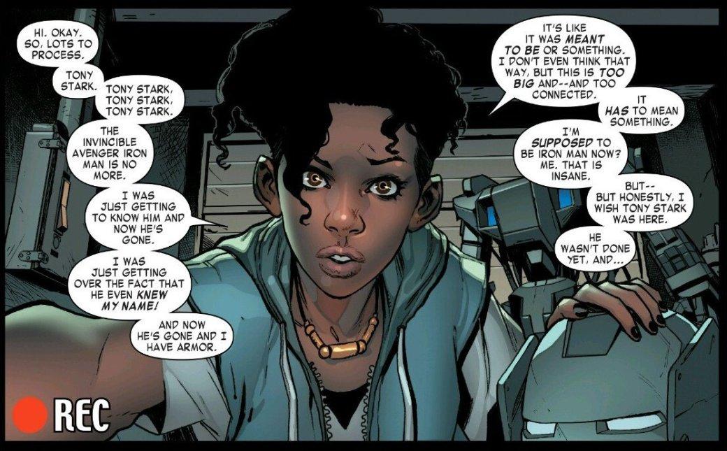 Гениальная темнокожая девочка наконец стала Железным человеком - Изображение 2