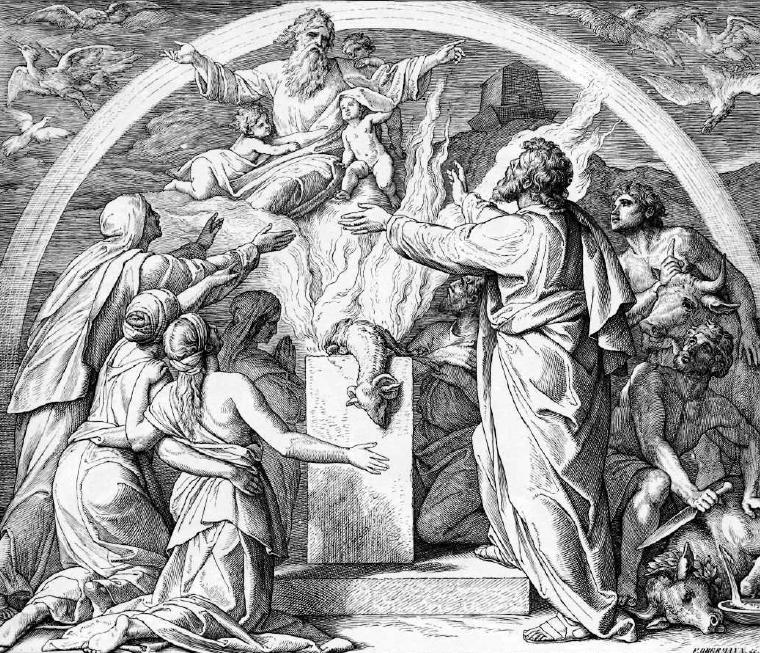 Как пережить ветхозаветный потоп. Инструкция по Библии. - Изображение 10