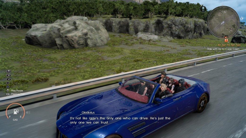 Рецензия на Final Fantasy XV - Изображение 15