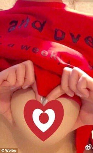 [NSFW] Грудь вформе сердца: безумный флешмоб откитайских девушек. - Изображение 4