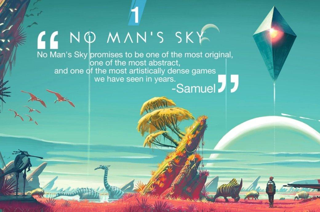No Man's Sky назвали самой ожидаемой игрой 2016 года - Изображение 1