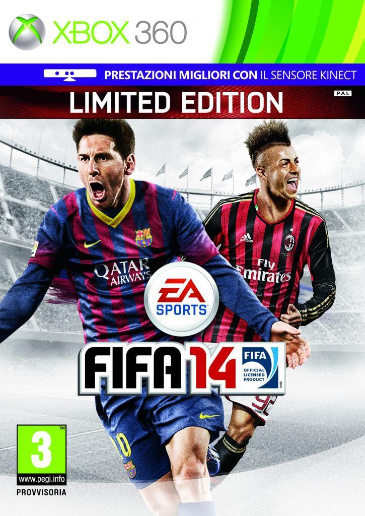 На итальянскую обложку FIFA 14 попал Эль-Шаарави - Изображение 1
