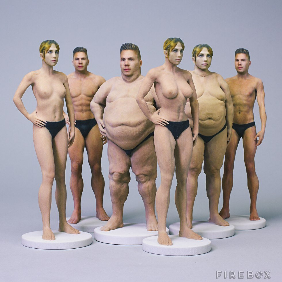 За $210 англичане изготовят омерзительно реалистичную голую модель - Изображение 1