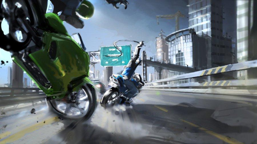 Создатель MotoGP собирает деньги на игру в духе Road Rash  - Изображение 1