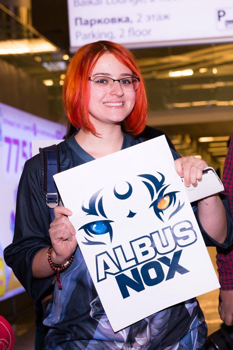 Фанаты встретили Albus NoX Luna в Шереметьево как героев. - Изображение 3
