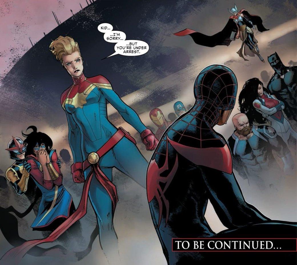 Черный Человек-Паук убьет Капитана Америка вовторой «Гражданке»?. - Изображение 4