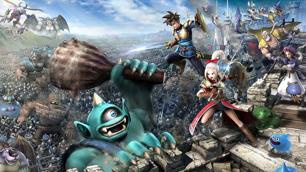 Официально: PC-версия Dragon Quest Heroes выйдет 3 декабря - Изображение 1