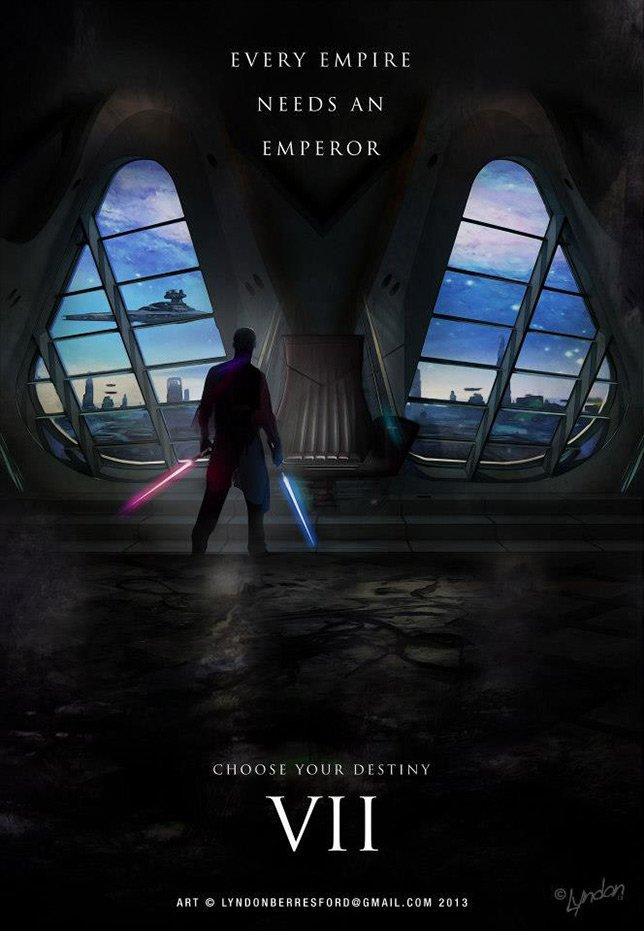 Фанатские постеры Star Wars: Episode VII - Изображение 16