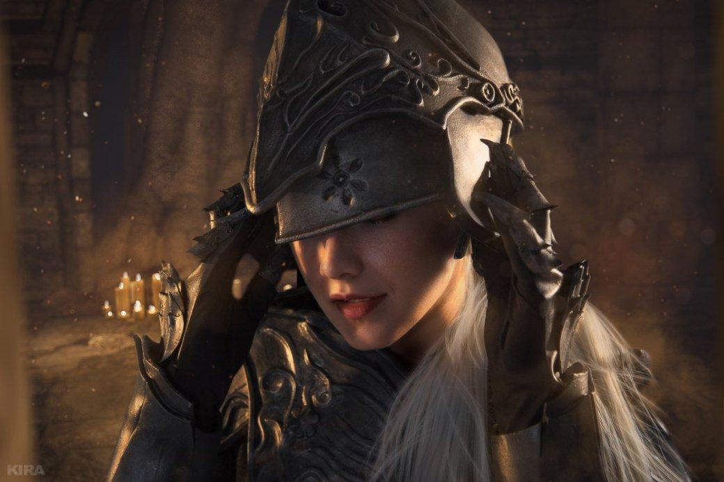 Косплей дня: Негорящий и Юрия из Лондора в Dark Souls 3. - Изображение 5