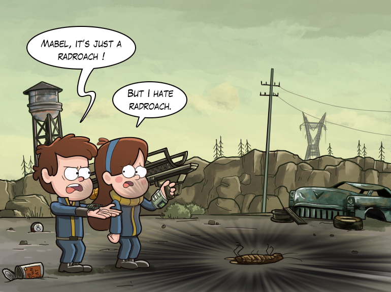 Лучший арт мира Fallout - Изображение 32