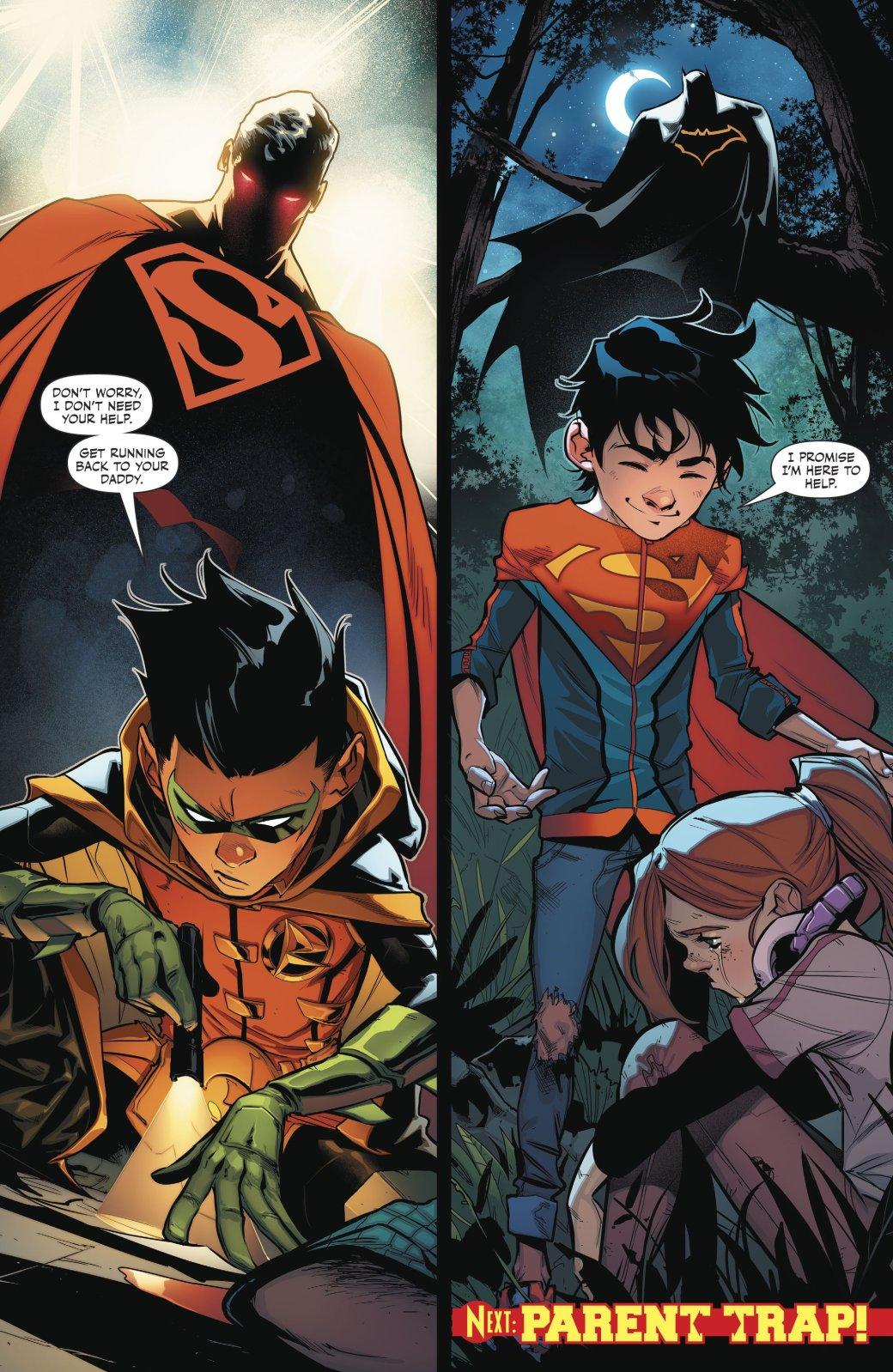 Супербой и Робин столкнулись со своим первым суперзлодеем - Изображение 4