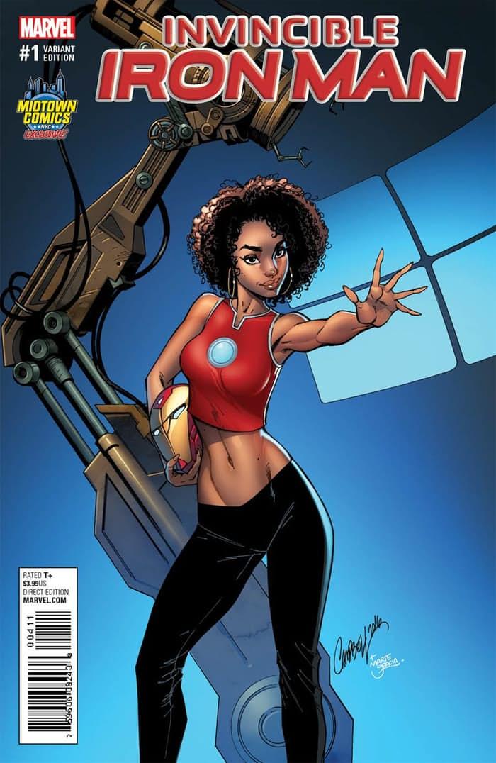 Marvel запретила обложку Iron Man из-за слишком сексуальной школьницы - Изображение 1