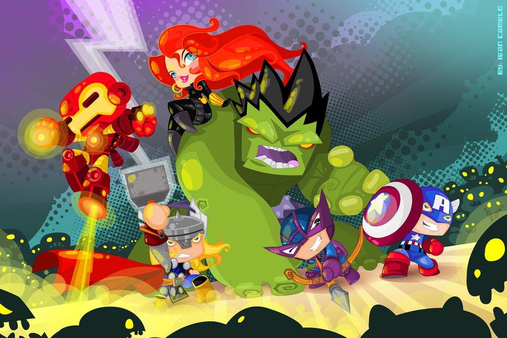 Галерея вариаций: Мстители-женщины, Мстители-дети... - Изображение 80