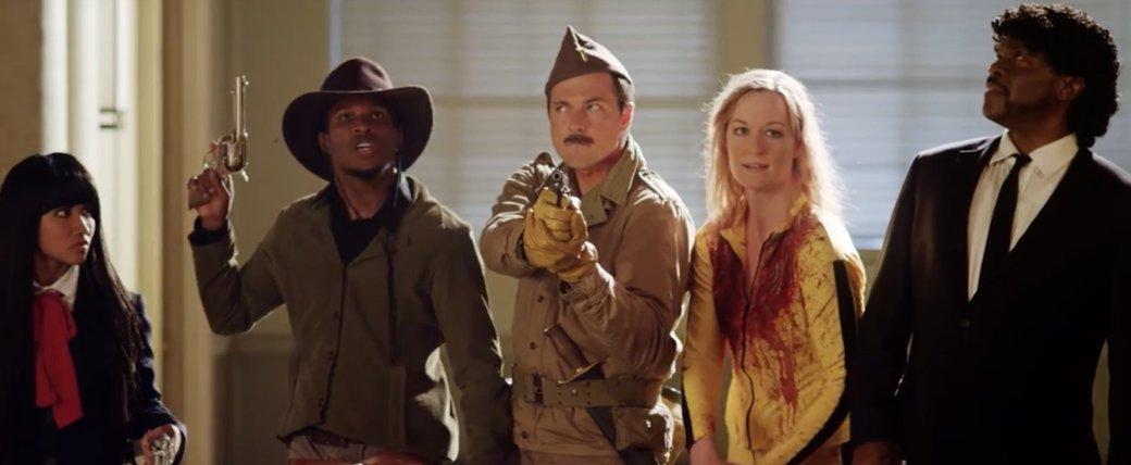 Пародия на «Отряд самоубийц» использует героев Тарантино - Изображение 1
