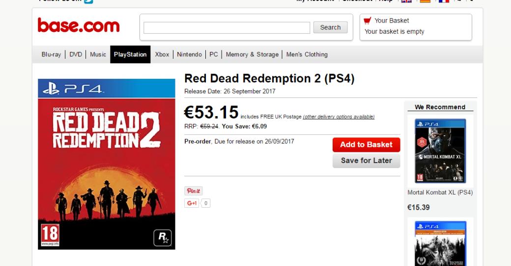 Red Dead Redemption 2, скорее всего, выйдет всентябре - Изображение 1