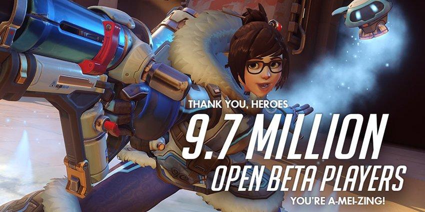 Бета Overwatch обогнала всех конкурентов - Изображение 1