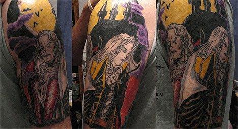 Татуировки фанатов видеоигр. - Изображение 20