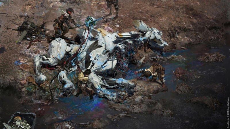 Прекрасные концепты Horizon: Zero Dawn отхудожников «Игры престолов» - Изображение 25
