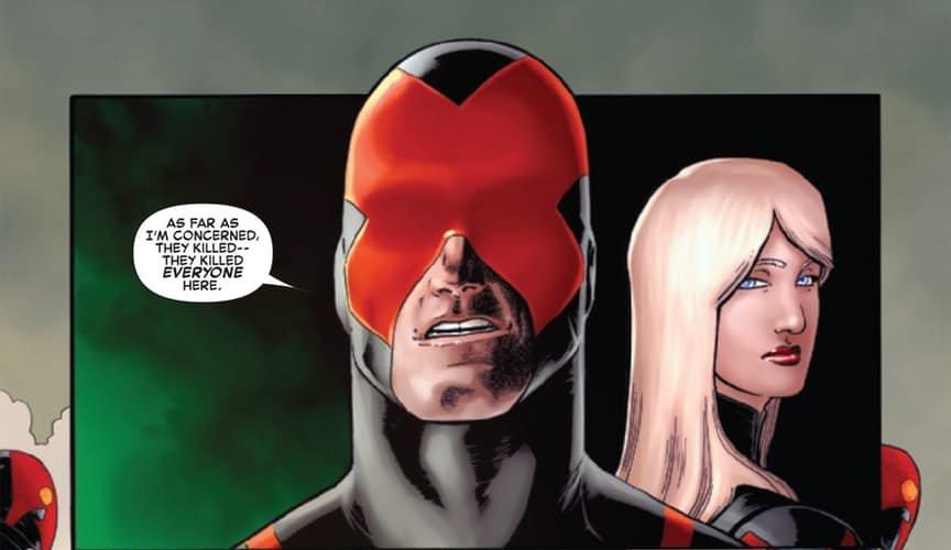 Вфинале комикса Death ofX#4 показали смерть мутанта Циклопа - Изображение 1
