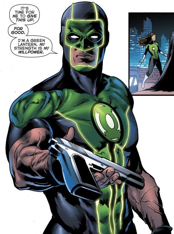 Зеленому фонарю больше не нужен пистолет, и все благодаря Бэтмену. - Изображение 8