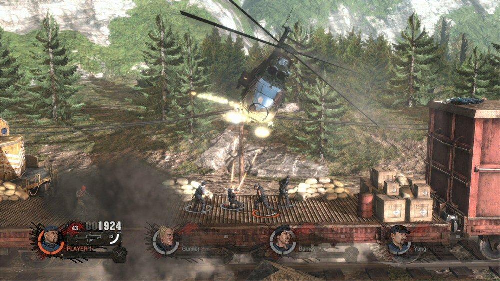 """Игра по """"Неудержимым 2"""" стала скачиваемым аркадным шутером - Изображение 3"""