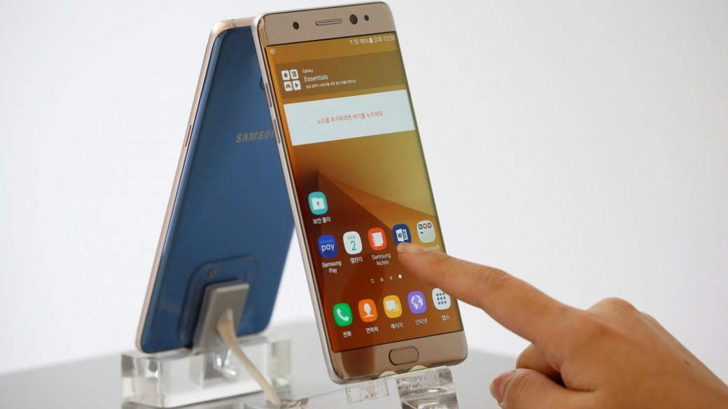 Замена аккумуляторов непомогла: Samsung свернет производство Note7 - Изображение 1