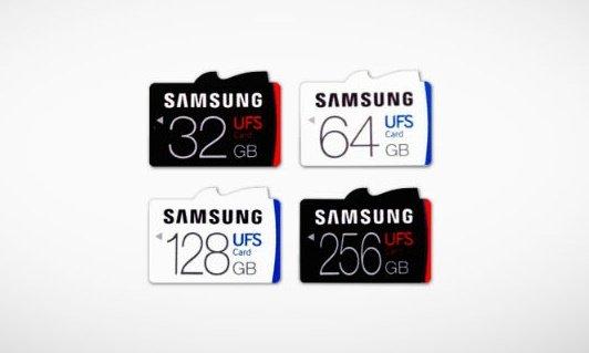 Samsung представила революционный формат flash-карт UFS - Изображение 1