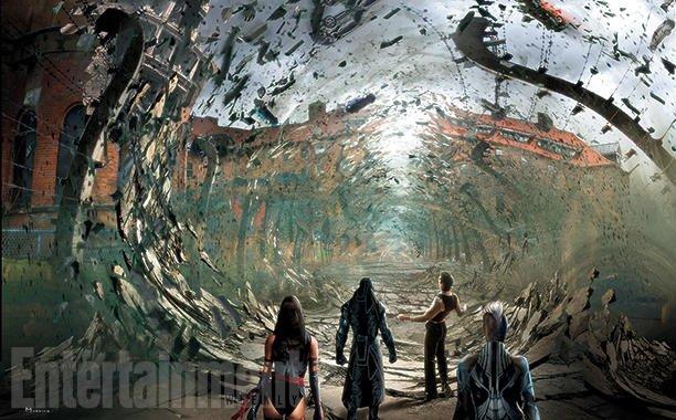 Концепт-арт: на что способен Магнето в фильме «Люди Икс: Апокалипсис» - Изображение 1
