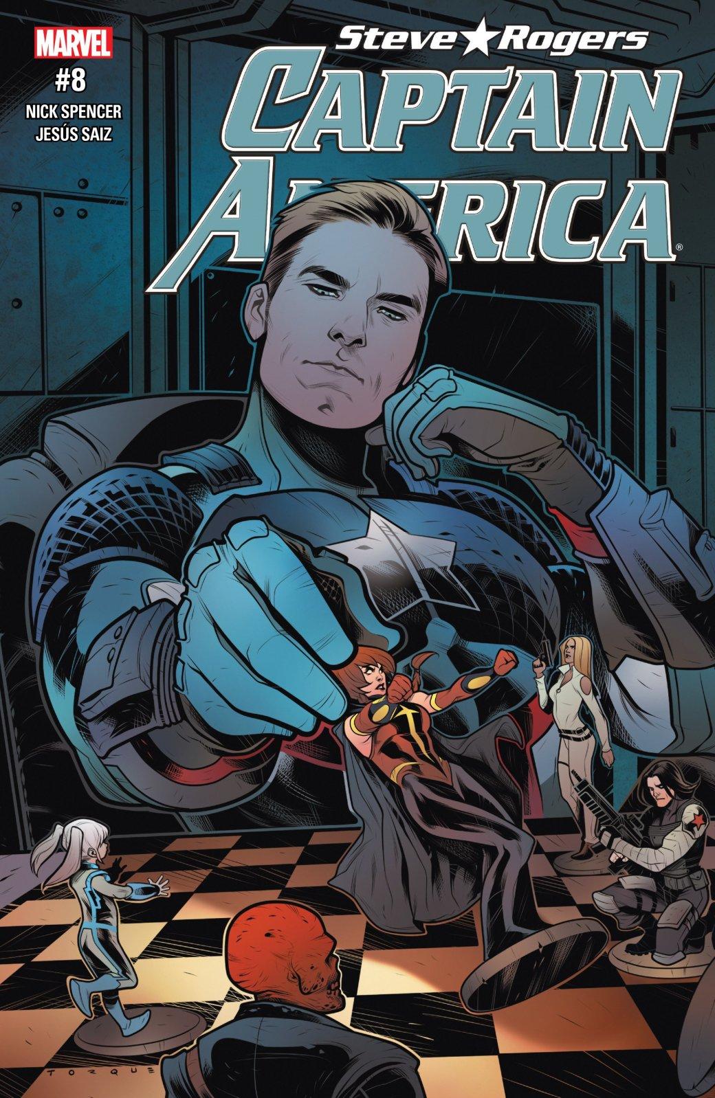 Как изменился Капитан Америка, став агентом Гидры? - Изображение 1