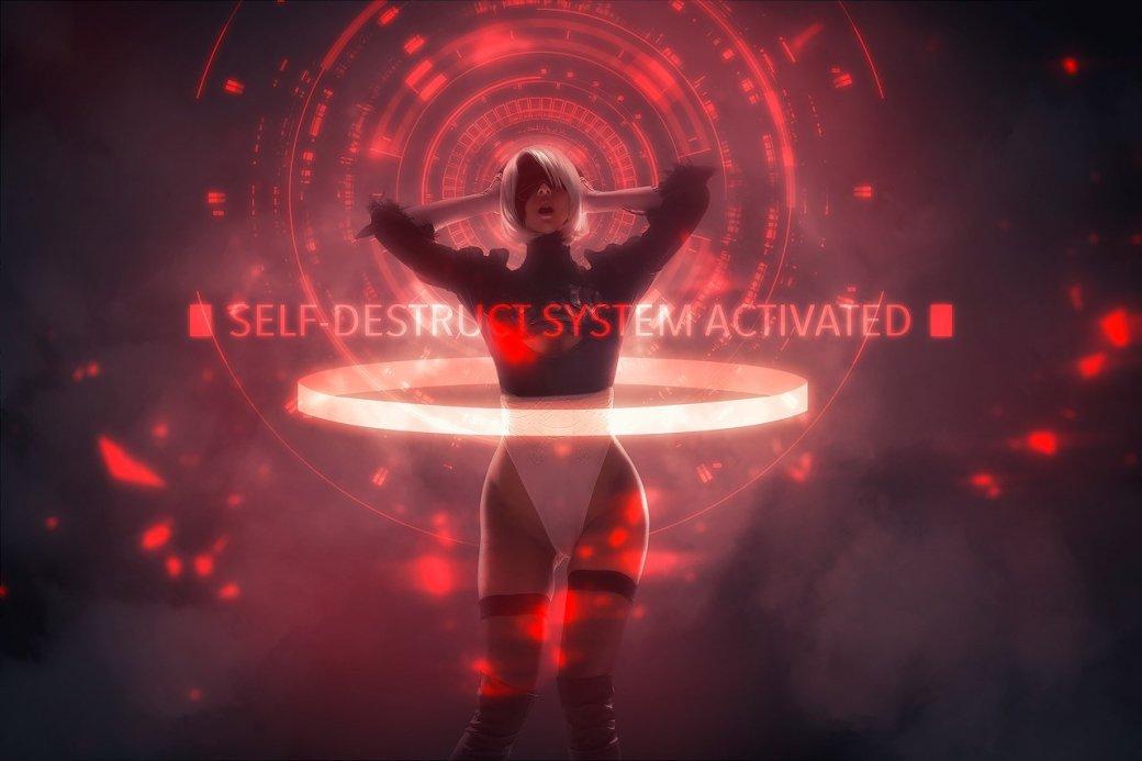 Косплей дня: андроид 2B из NieR: Automata. - Изображение 9