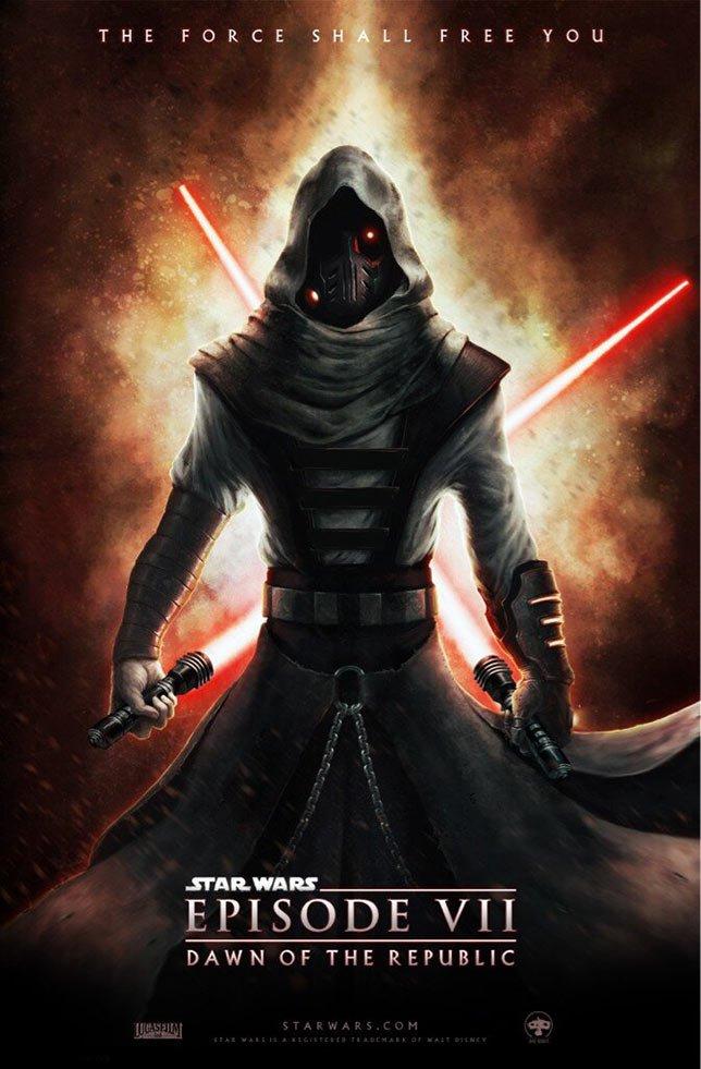 Фанатские постеры Star Wars: Episode VII - Изображение 17