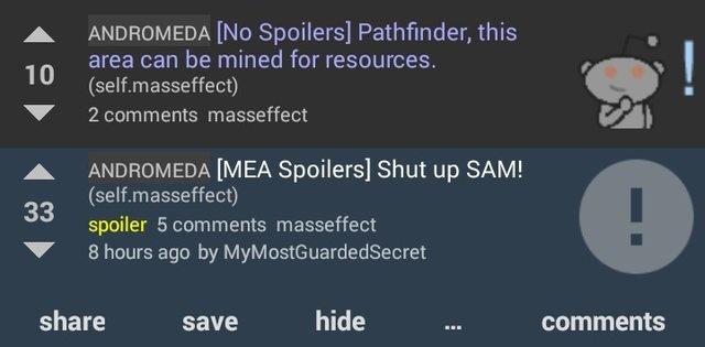 Игроки жалуются нанадоедливый AIвMass Effect: Andromeda - Изображение 1