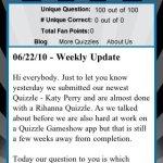 Скриншот Rihanna Quizzle – Изображение 2