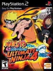 Naruto Shippuuden: Ultimate Ninja 4 – фото обложки игры