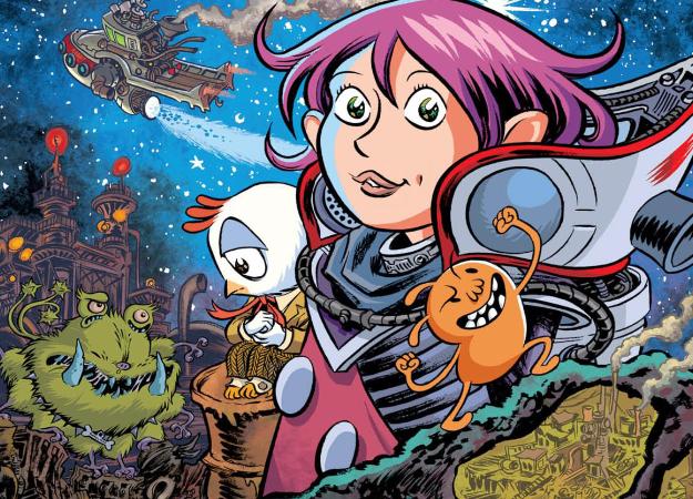 Разыгрываем комиксы вочень сложном тесте для любителей научной фантастики икосмоса!