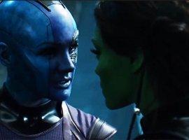 Съемки «Мстителей: Финал» еще не закончились! Гамора и Небула недавно побывали на съемочной площадке
