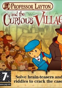 Professor Layton and the Curious Village – фото обложки игры