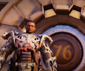 Игрок вFallout 76 решил помочь новичкам ивзял насебя роль NPC