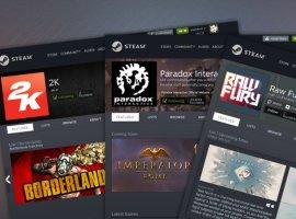 Valve обновила дизайн страниц издателей и разработчиков в Steam. Стало удобнее!
