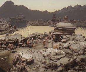 Авторы мода Beyond Skyrim: Morrowind выпустили ролик спотрясающе красивыми пейзажами
