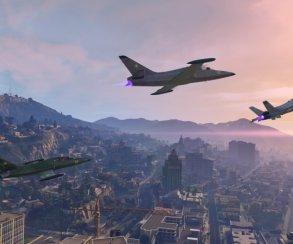 Гифка дня: приземление-полицейский разворот вGrand Theft Auto5