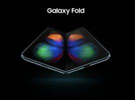 ВСети появились официальные фото складного смартфона Samsung Galaxy Fold